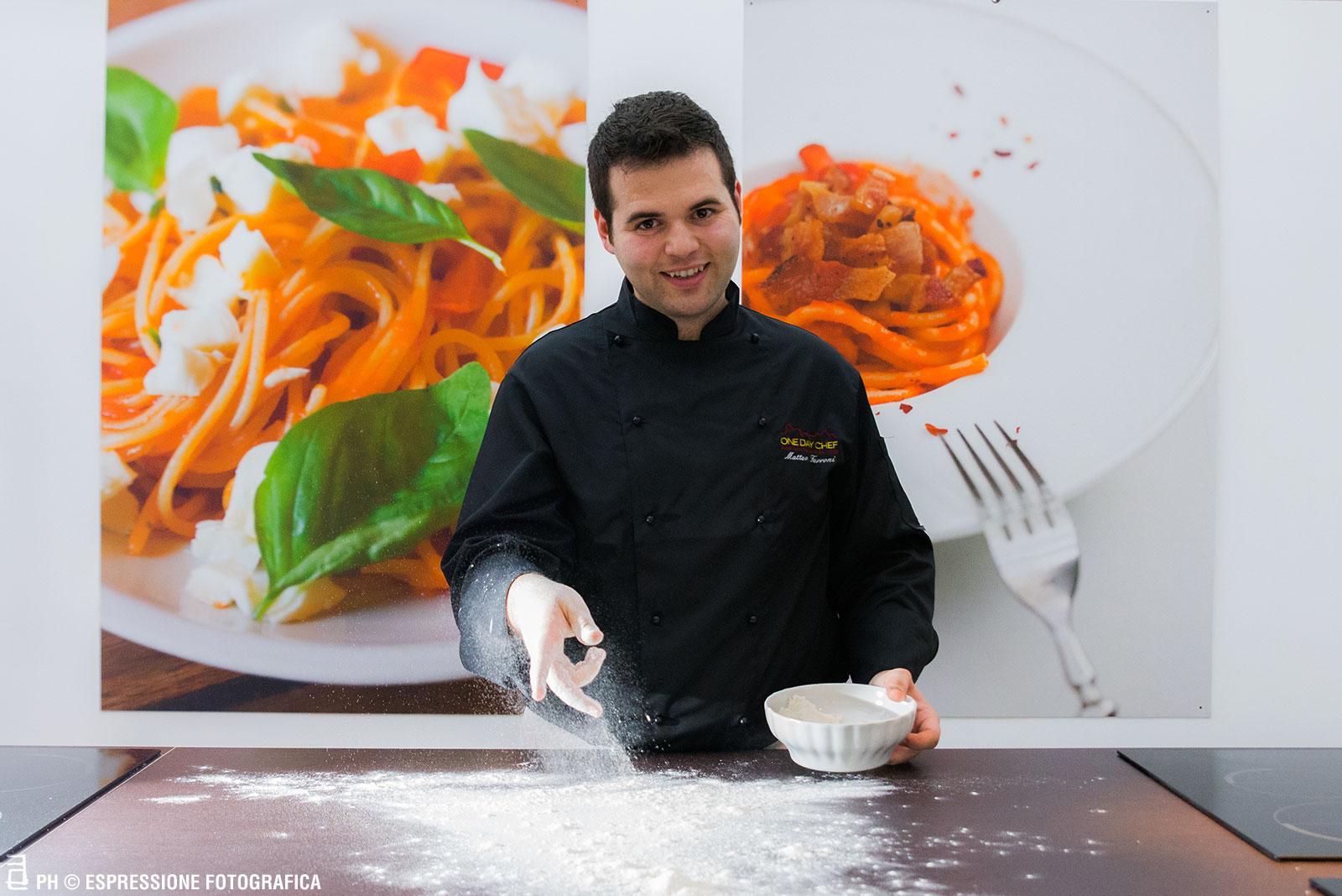 Chef Matteo Ferroni