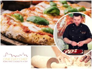 Cooking class Rome: how to make italian pizza